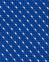 Royal Blue Woven Grenadine Dash Tie