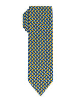 Navy Duck printed Boys tie