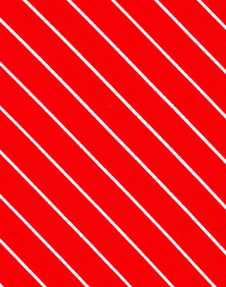Red Shadow Stripe Printed Satin