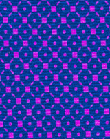 Purple Printed Diamond Neat