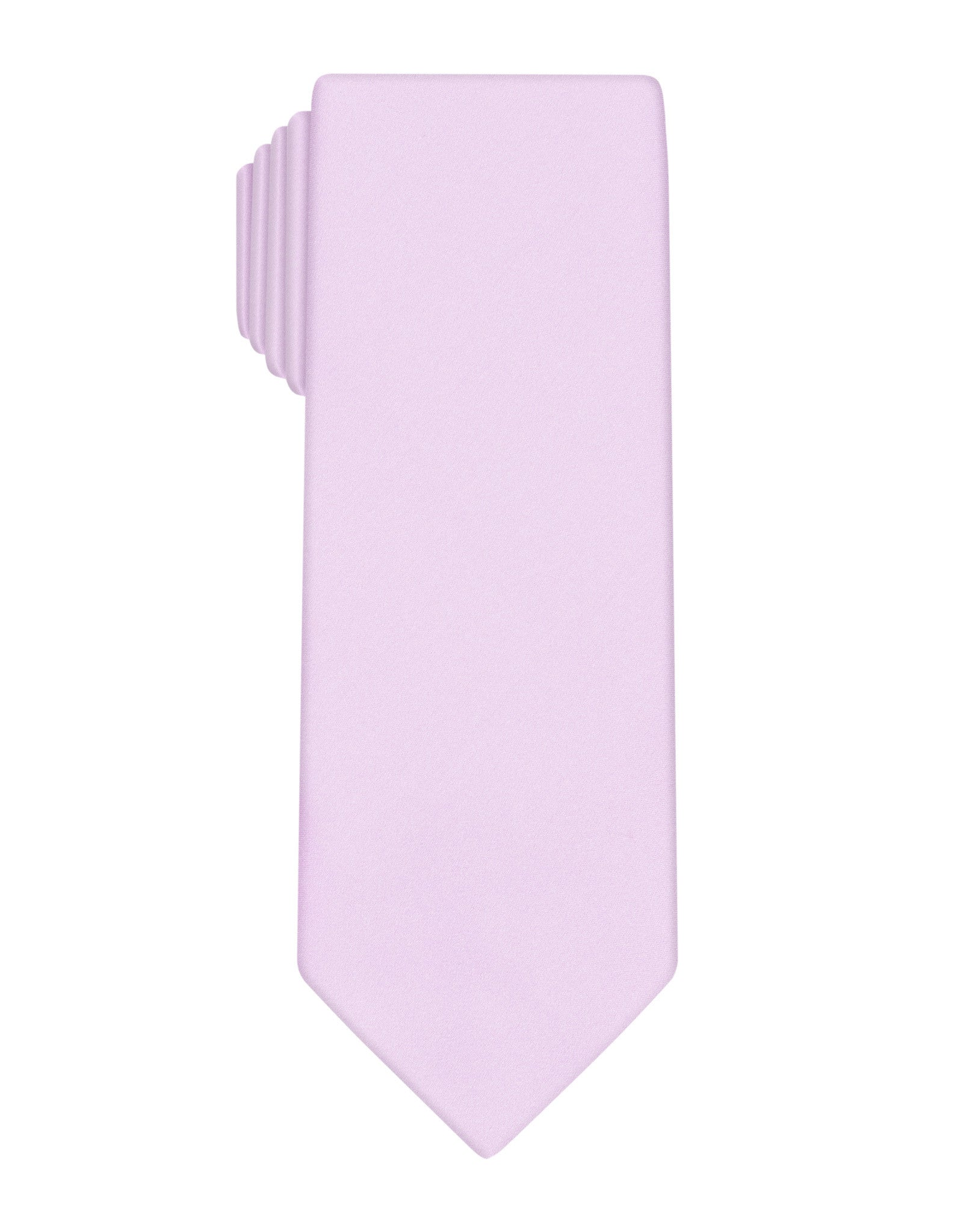 Pink Handprinted Satin Tie