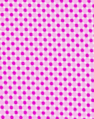 Pink Printed Diamond Dot