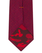 Red Printed Hawaiian Tie