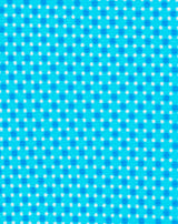 Blue Printed Diamond Dot