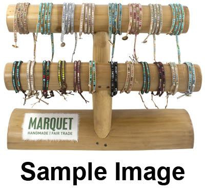 Bamboo POP Display 2 Tier **Free with bracelet orders above $350