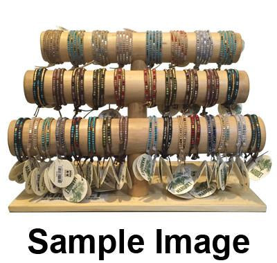 Wrap Bracelets and Singlets Pre-Pack / 40 pcs with Free Display