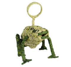 Upcycled Frog Photo Stand