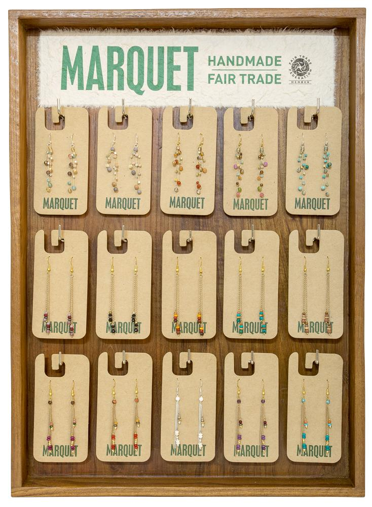 Shown: Slatwall Earring Display