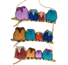 Owls - Family of 4 - 3/pk