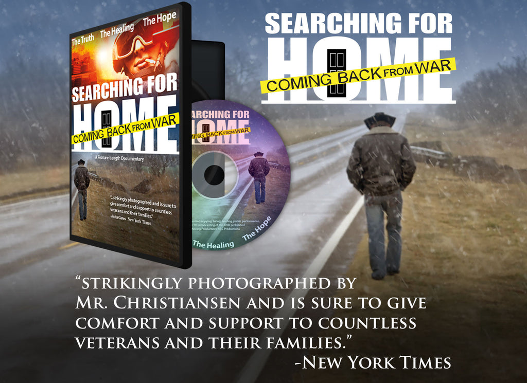 Searching for Home: Coming Back from War - DVD