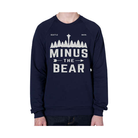Outdoorsy Pines Unisex Crewneck Sweatshirt