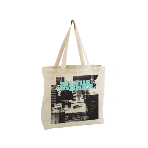 Menos Collage Oversized Tote Bag