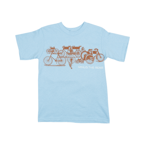 Bicycle Print Youth Tee