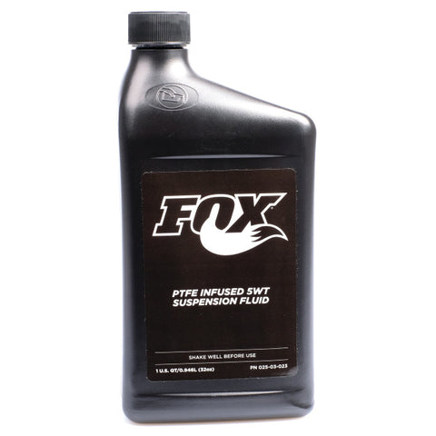 FOX Oil Suspension Fluid 5wt Teflon Infused 1.0 US Quart