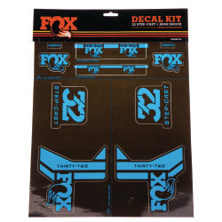 2017 Fox Step-Cast Sticker Kit