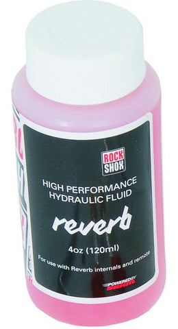 RockShox Reverb Hydraulic Fluid, 120ml Bottle - Reverb/Sprint Remote