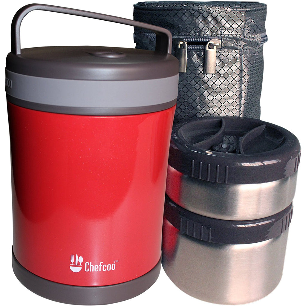 Double Walled Vacuum Thermos Food Flask