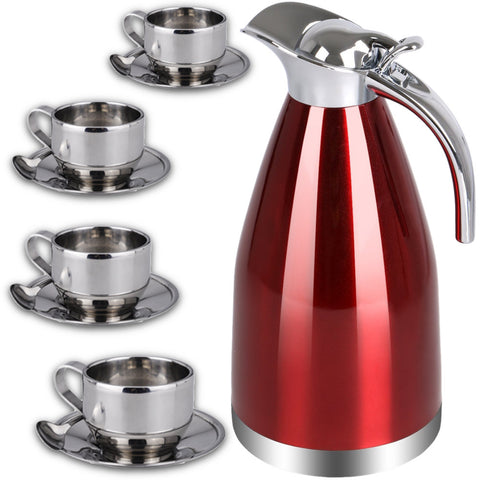 Coffee Tea Thermal Carafe Kettle Set