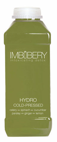 HYDRO Cold-Pressed Juice Drink by Imbibery London