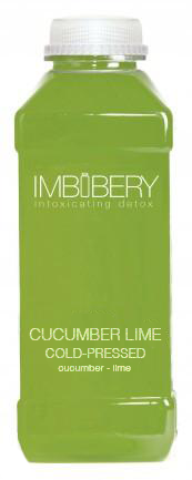 CUCUMBER LIME Cold-Pressed Juice Drink by Imbibery London