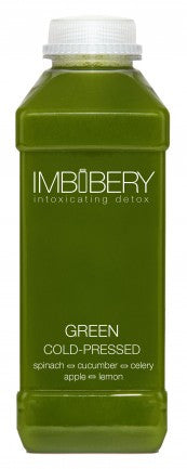 GREEN Cold-Pressed Juice Drink by Imbibery London