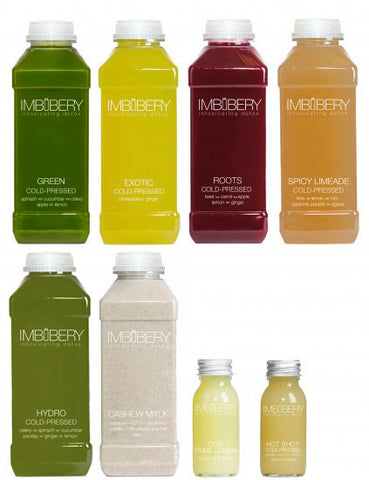 ID 1 - Juice Cleanse Drink by Imbibery London