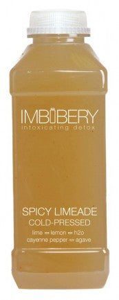 SPICY LIMEADE Cold-Pressed Juice Drink by Imbibery London