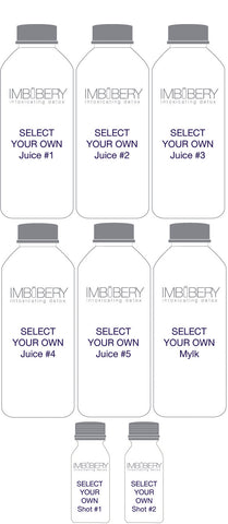 BUILD YOUR OWN CLEANSE Drink by Imbibery London