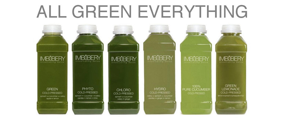 All Green Everything - Imbibery