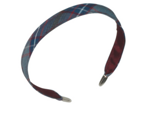 PLAID Narrow Headband