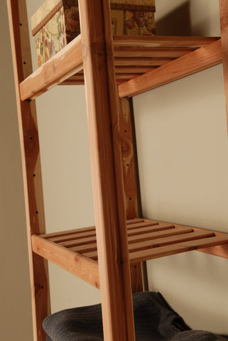 Basic Ventilated Closet Organizer - Northern Kentucky Cedar