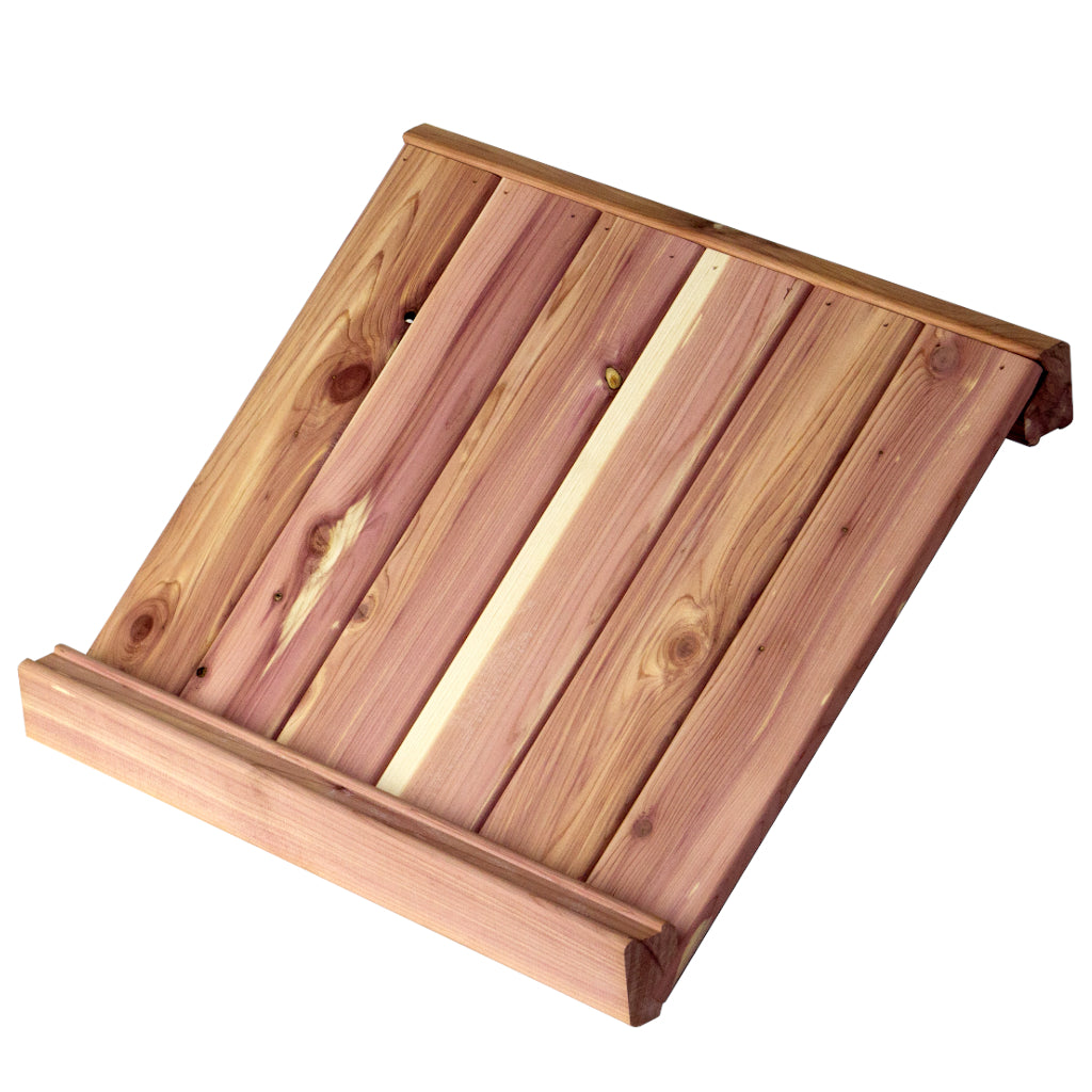 Solid Cedar Shoe Shelf