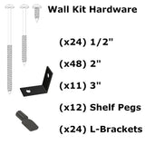 Additional Wall Kit Organizer Hardware