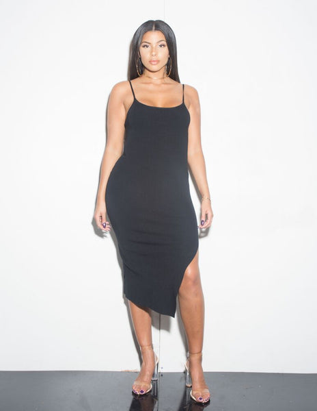 CAMI SLIT DRESS