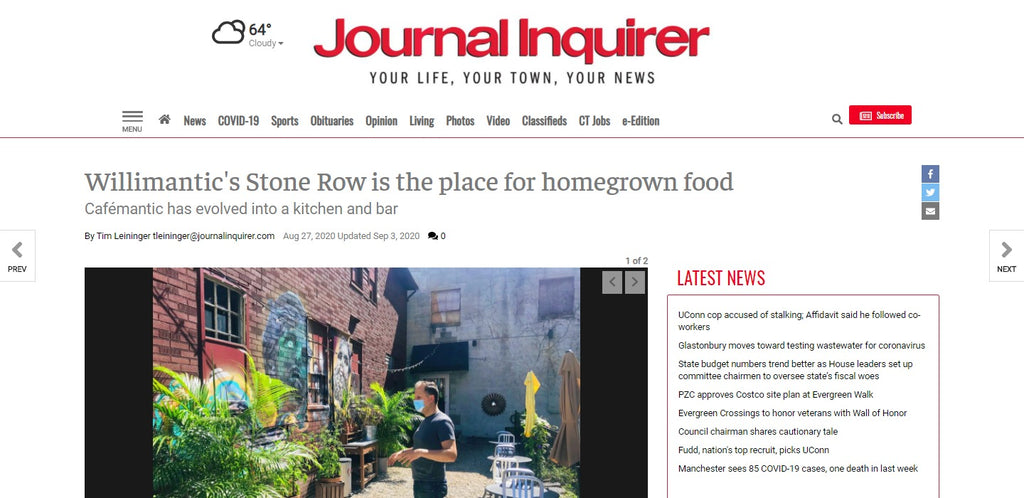 Willimantic's Stone Row is the place for homegrown food