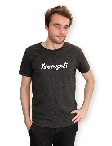 Tshirt gris anthracite - Yummypets - Homme