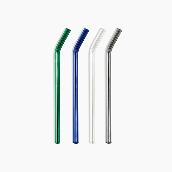 Cool Glass Straws Set