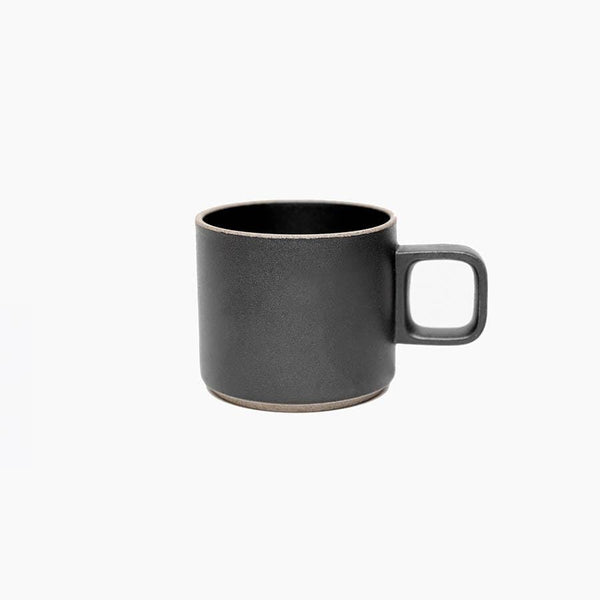 Small Hasami Black Porcelain Mug