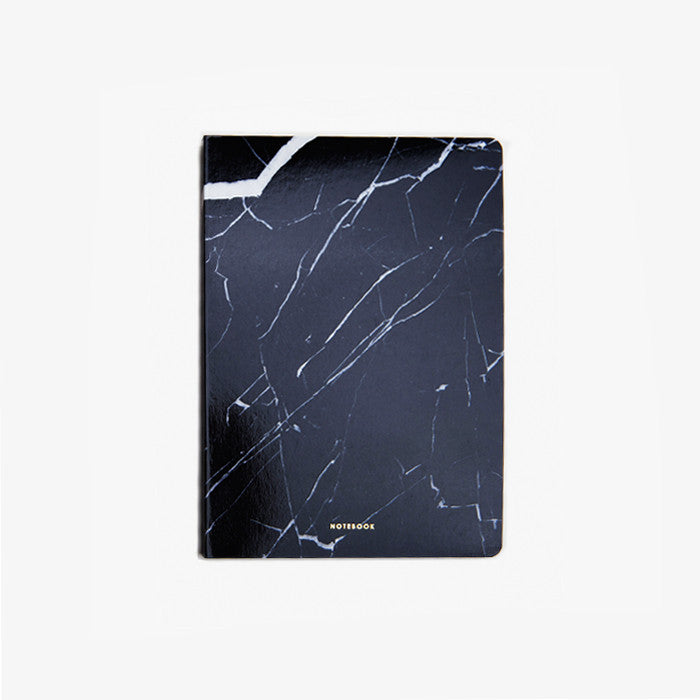 Dark Marble Notebook