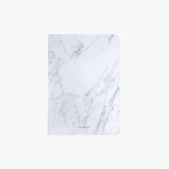 Light Marble Notebook