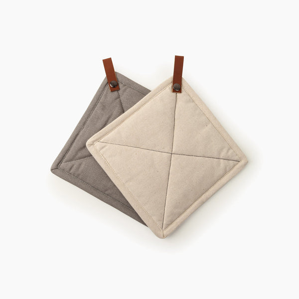 Square Pot Holder Set