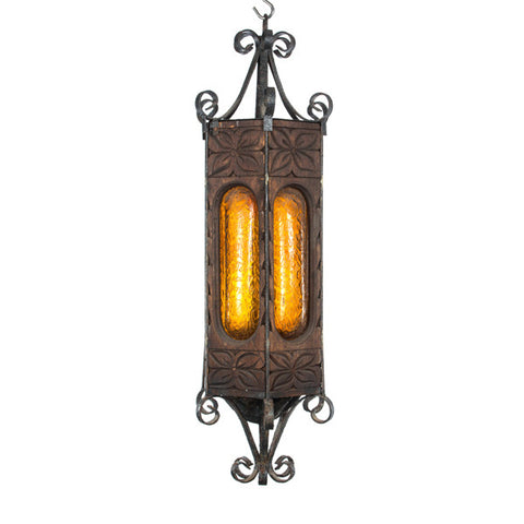Hand Carved Wooden Light