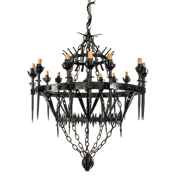 Gothic style chandelier dsirant gothic style chandelier aloadofball Gallery