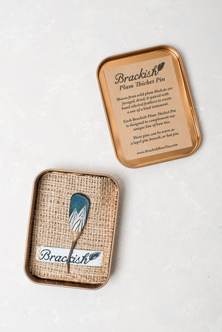 "Brackish Pin ""Plott"""