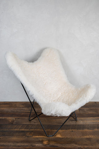 Sheep Skin Butterfly Chair