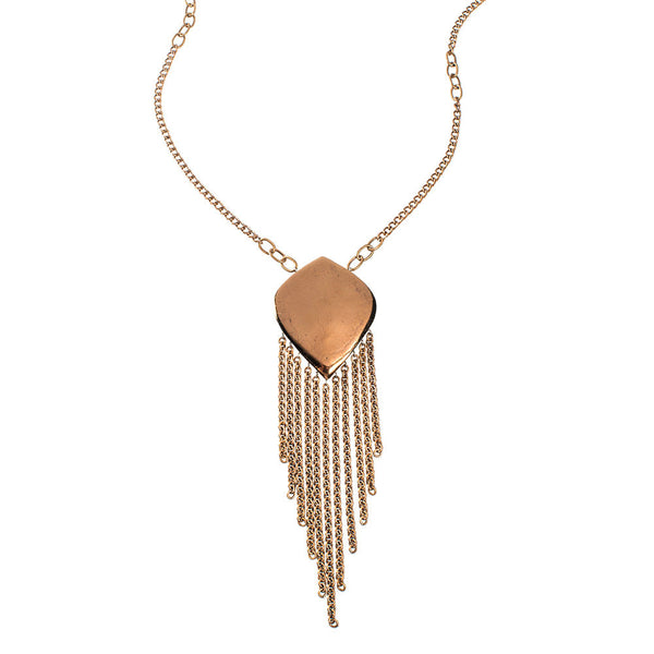 Dandy Eve Fringe Necklace