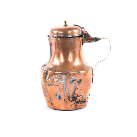 Antique French Copper Teapot - Small