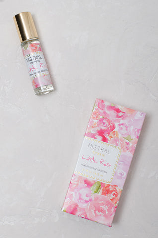 Roll-on Perfume Oil Lychee Rose