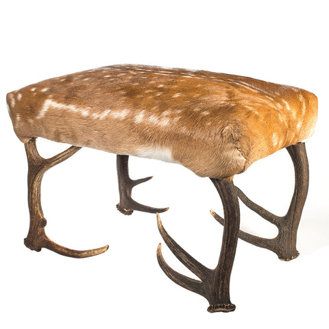 Deer Antler Bench