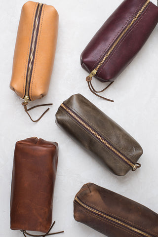 Highline Two Leather Pouch